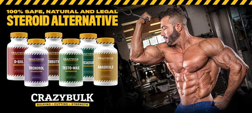 Crazy Bulk Steroid Alternative