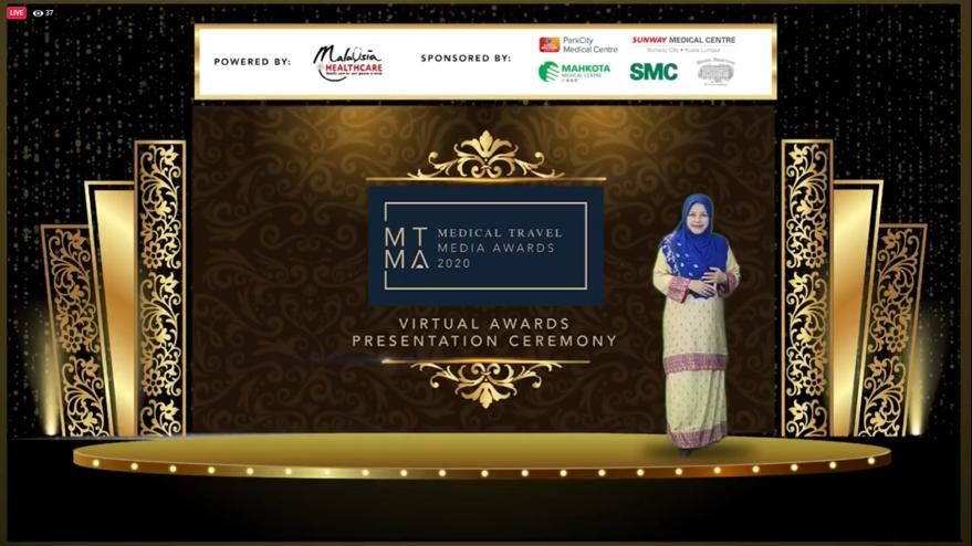 Malaysia Honours Media as Frontliners at MTMA2020