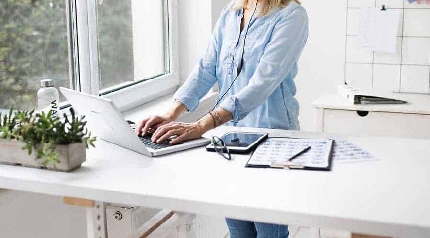 Best Corner Standing Desk Converter
