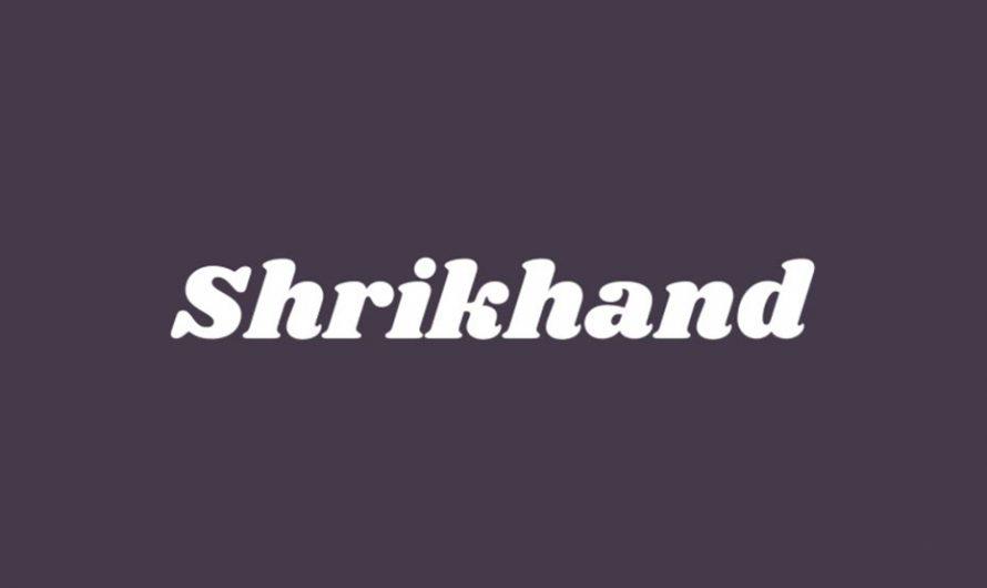 Shrikhand Font Free Download