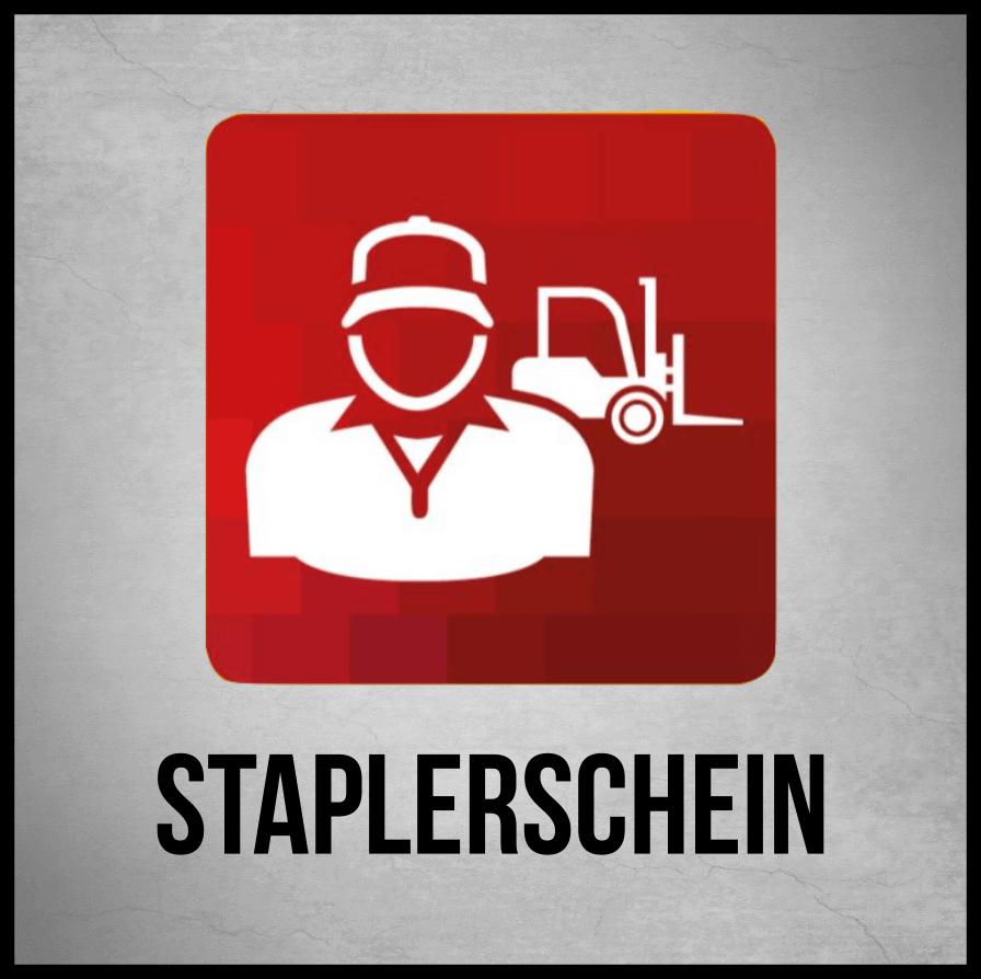 Staplerschulung Staplerschein Gabelstapler-Führerschein