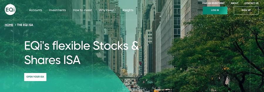 EQi Stocks and Shares ISA