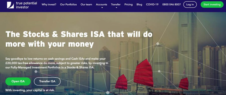 True Potential Investor ISA Review