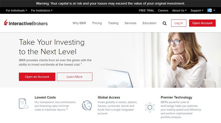 Interactive Brokers Review UK