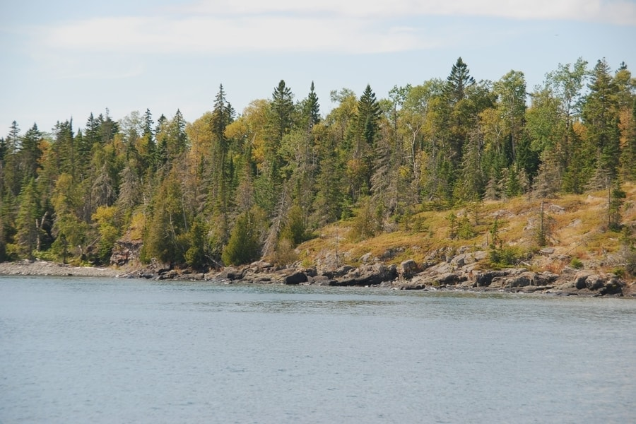 Isle Royale National Park in the Autumn