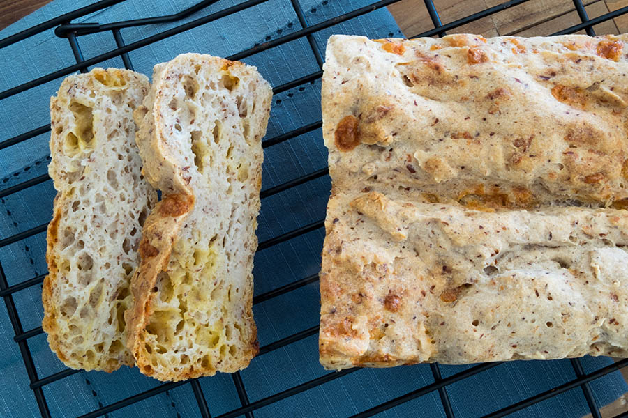 olive oil cheese bread, gluten free