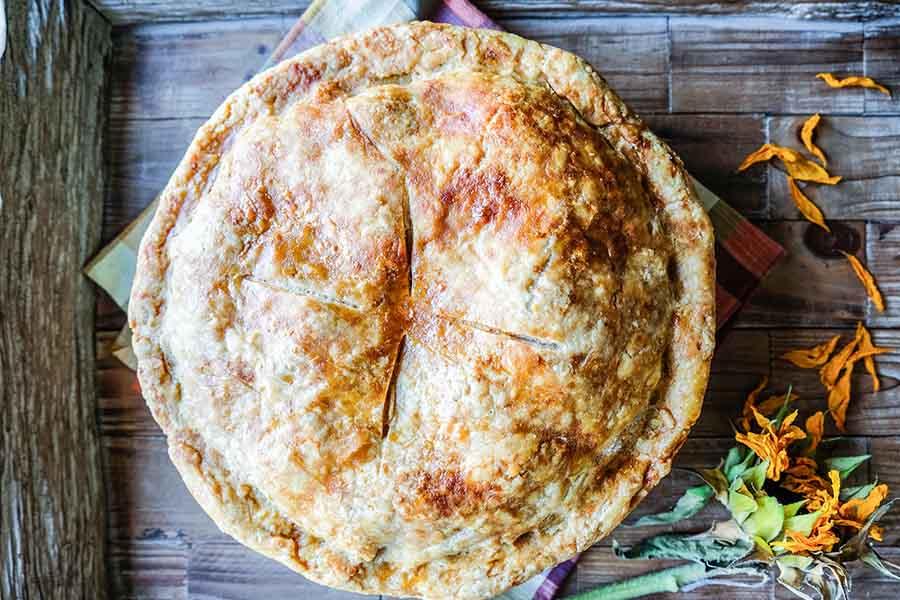 apple pie, gluten free