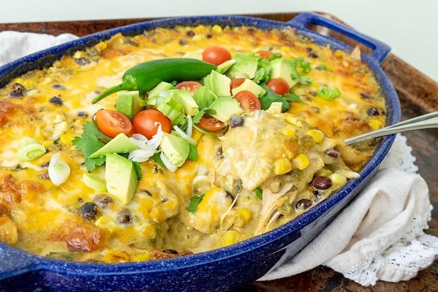 enchilada, chicken, gluten free