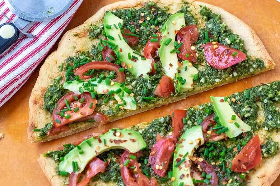 glue-free quinoa pizza dough