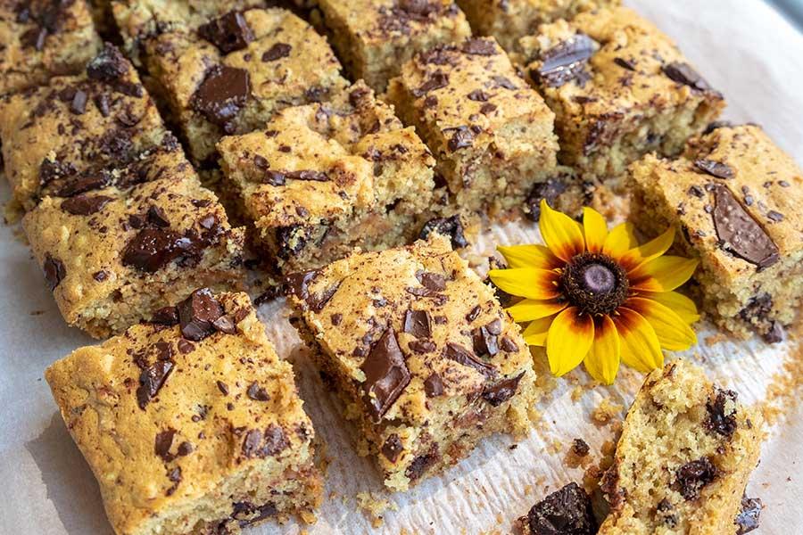 gluten-free coffee cake, chocolate