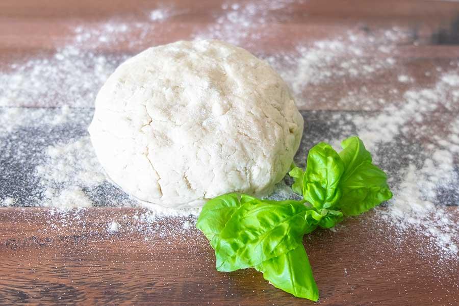 pizza dough, gluten free, yeast free