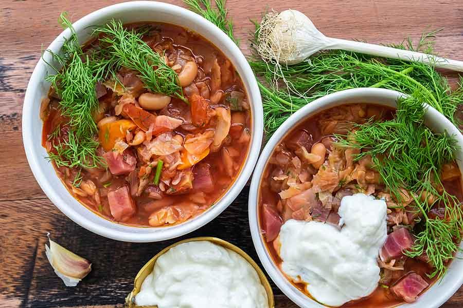 borscht, instant pot