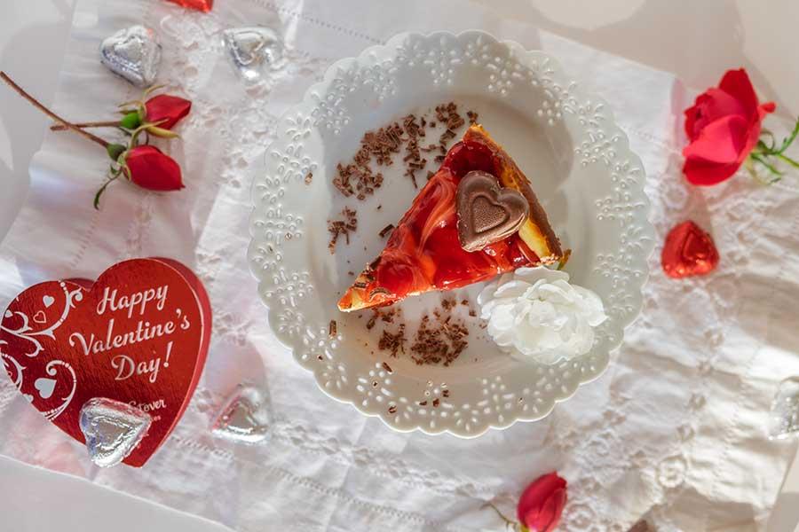 gluten free Black Forest cheesecake