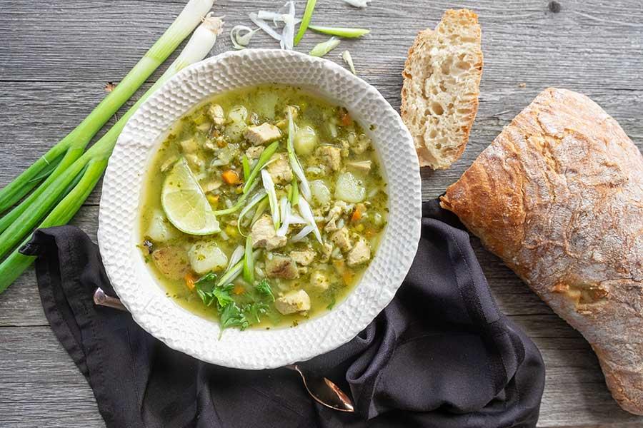 peruvian chicken soup
