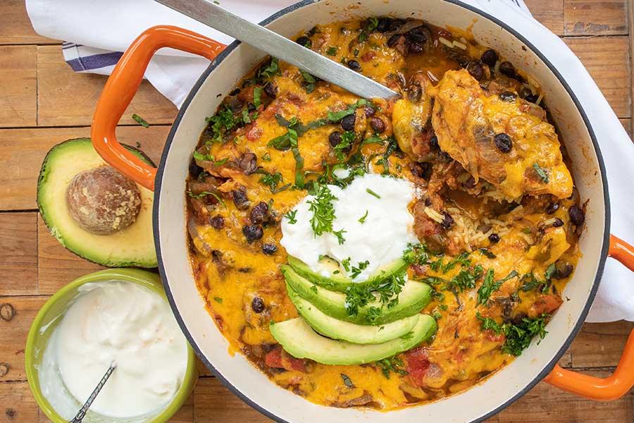 instant pot Mexican chicken dinner