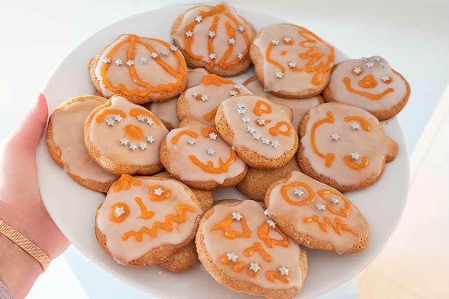 honey cinnamon cookies, gluten free
