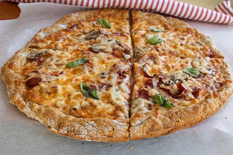 New York-Style Pizza, gluten free