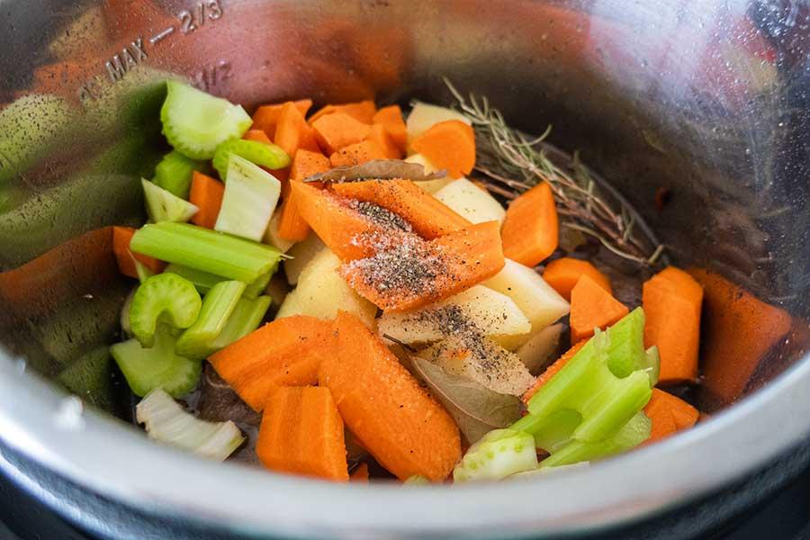 oxtail soup, instant pot