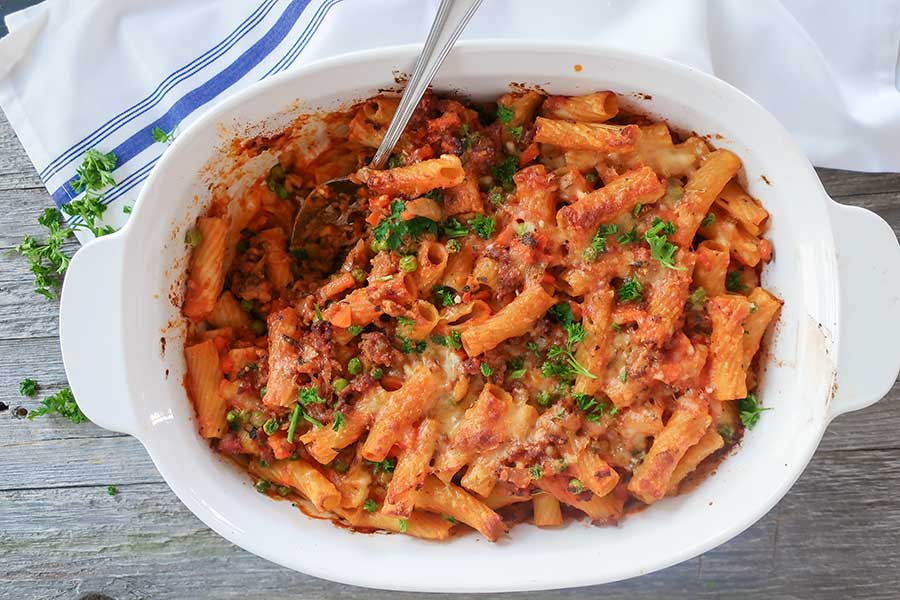 gluten-free Italian dinner