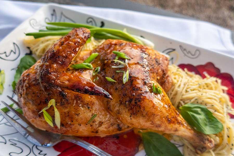 gluten-free chicken dinner
