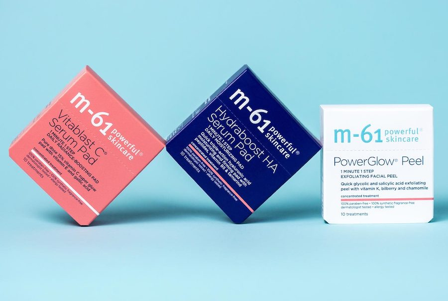 Bluemercury The Glow Challenge and receive a FREE M-61 PowerGlow Peel 10 Count
