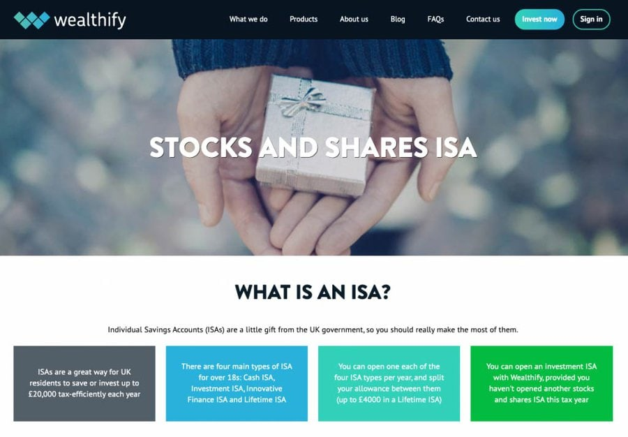 Wealthify ISA Review