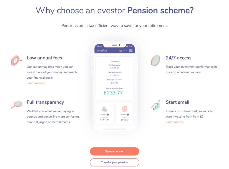 Evestor SIPP Review