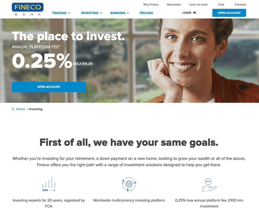 Fineco Investing Review