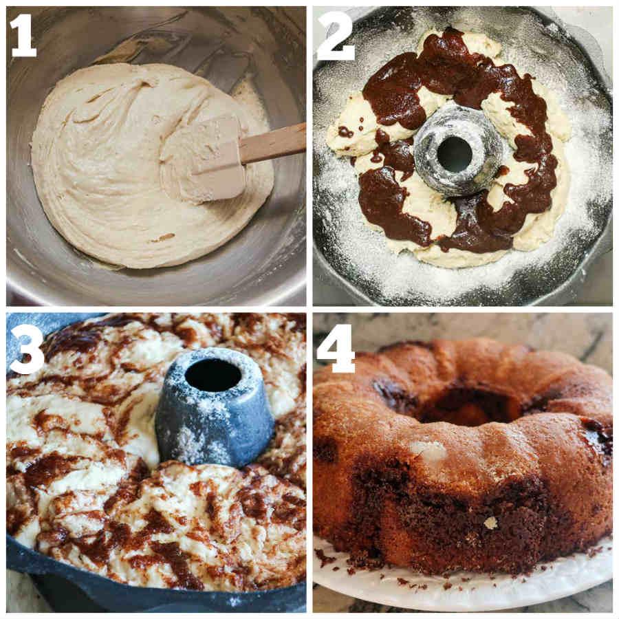 cinnamon roll cake, gluten free