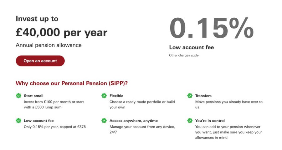 Vanguard Investor SIPP Review