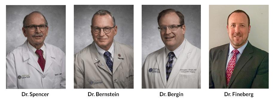The Spine Center's orthopedic surgeons