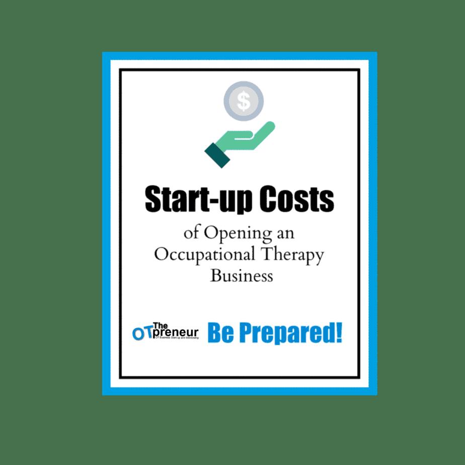 Start-up Costs- The OTpreneur - Thumbnail