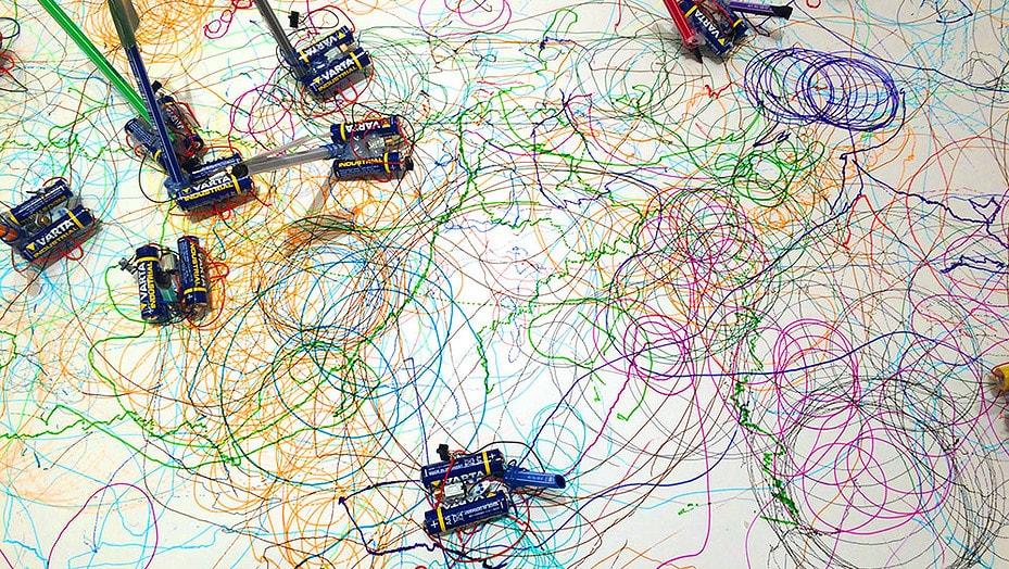 Drawbots – Malende Roboter