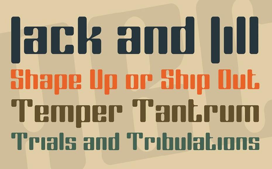 Coggers Tariqa Font Family Download