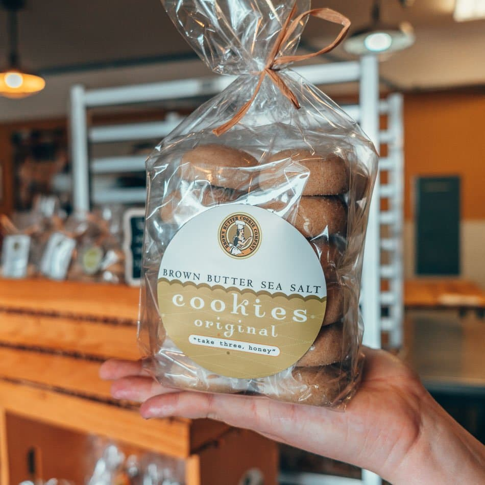 Brown Butter Cookie Company in Cayucos on a Central Coast California Highway One Road Trip