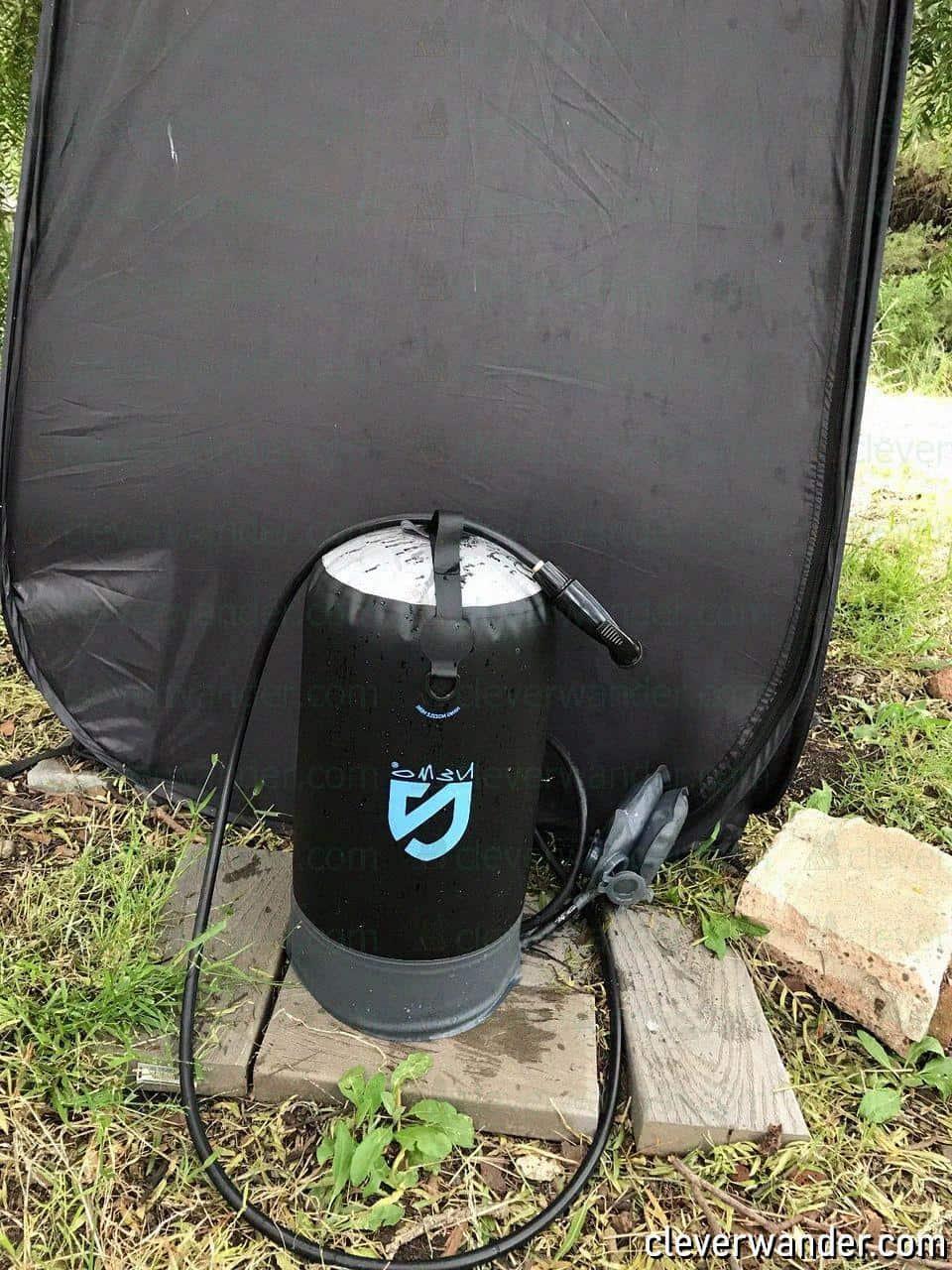 Nemo Helio Portable Pressure Shower - image review 1