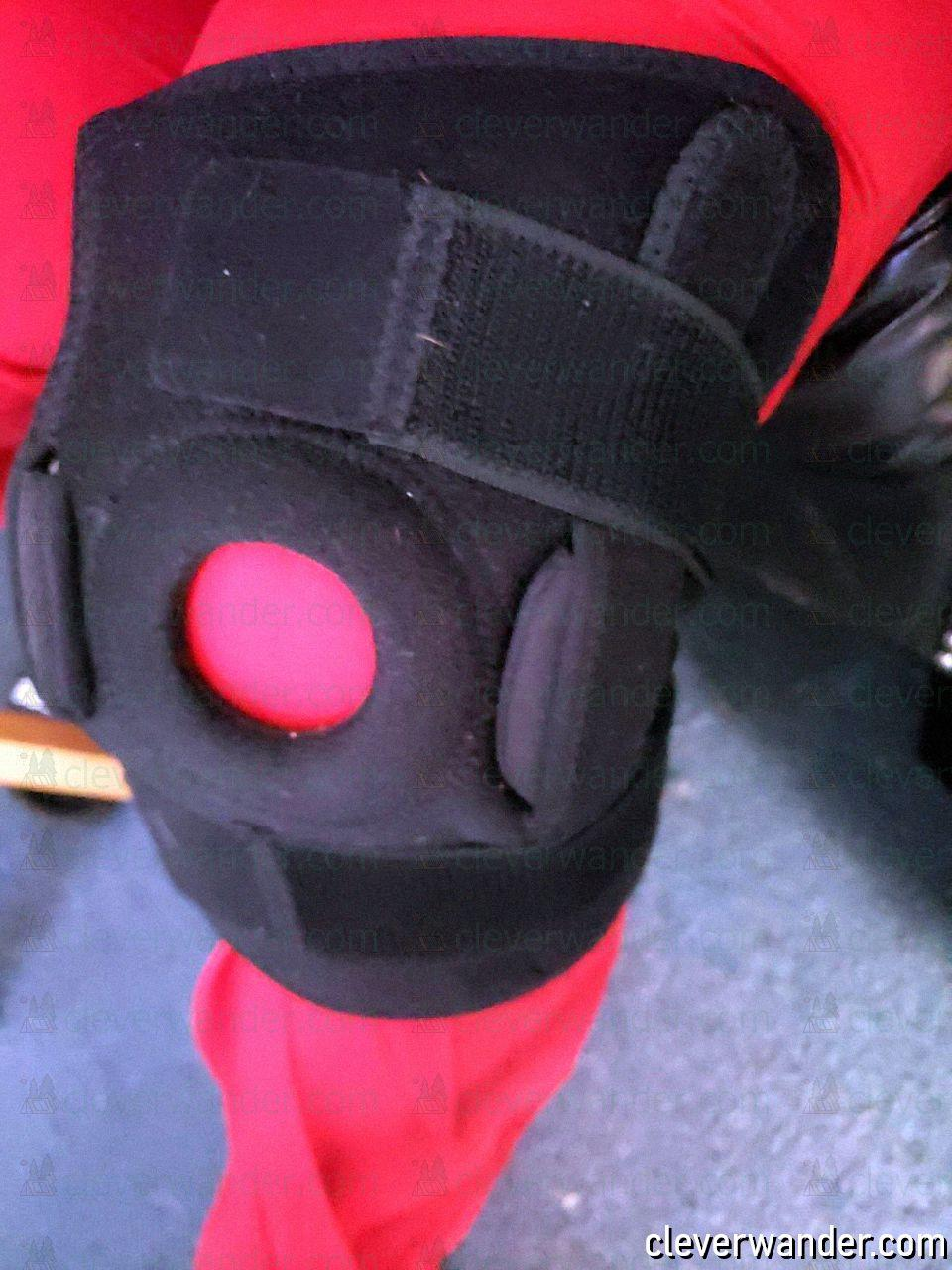 Vive Hinged Knee Brace - image review 1