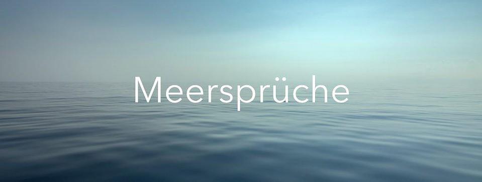 Meersprüche Maritimliebe