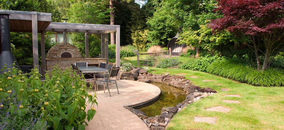 Beautiful garden design example