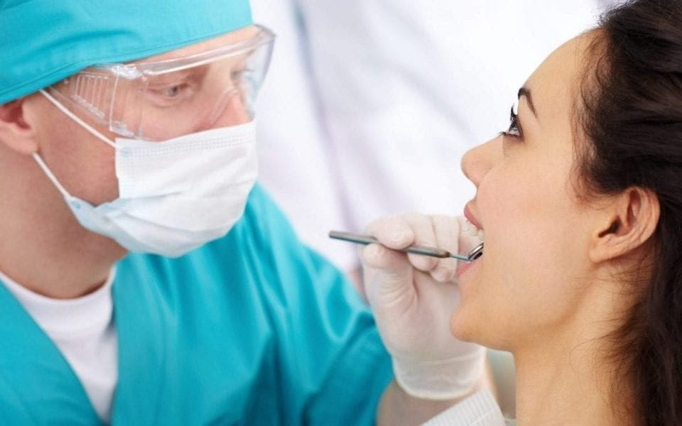 NC dentist doing a check up