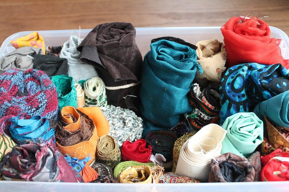 Rolled Cloth - Nimra and Manahil Bandukwala