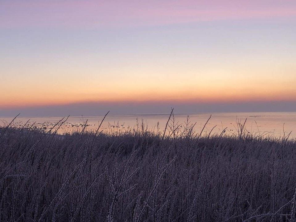 Morgenröte - Sonnenaufgang an der Ostsee