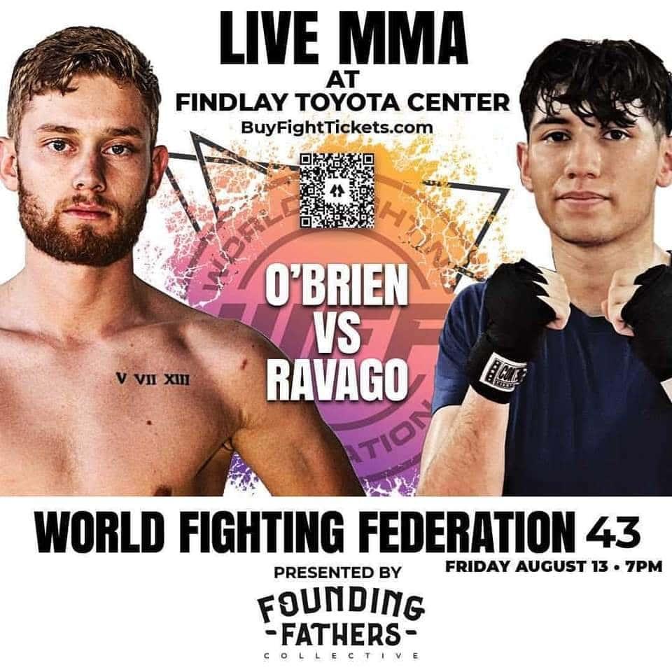 wff 43 Obrien vs Ravago - MMA Fight Coverage