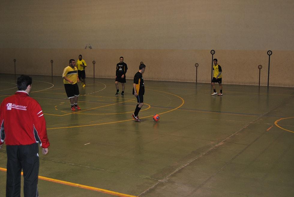 Fotografía de archivo del Campeonato de invierno de fútbol-sala de Peñaranda