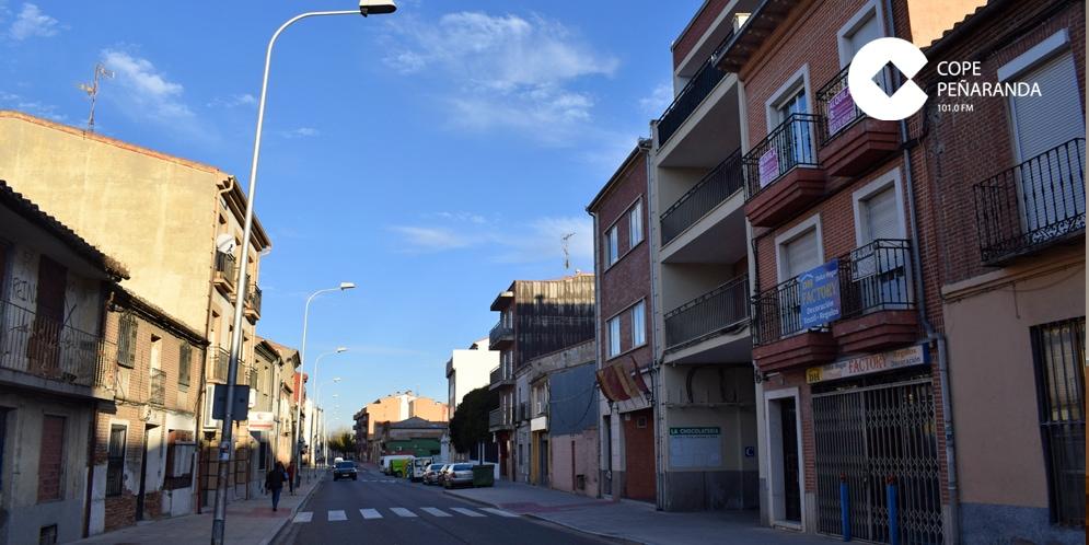 La calle del Carmen es una de las que verán cambiadas sus luminarias.