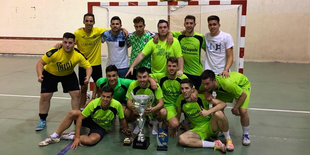 Construcciones Alfayate ganó el Torneo de las 32 horas de Fútbol-sala de Peñaranda.