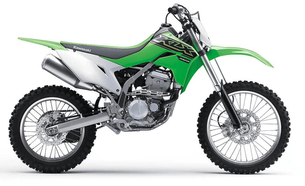 Adult Kawasaki Trail dirt bike