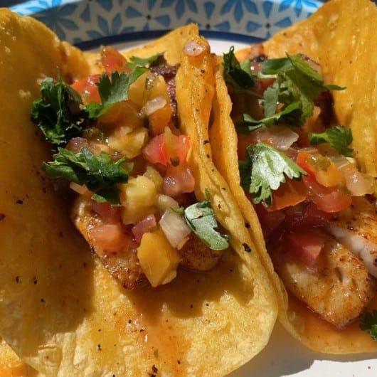 White Bass Tacos