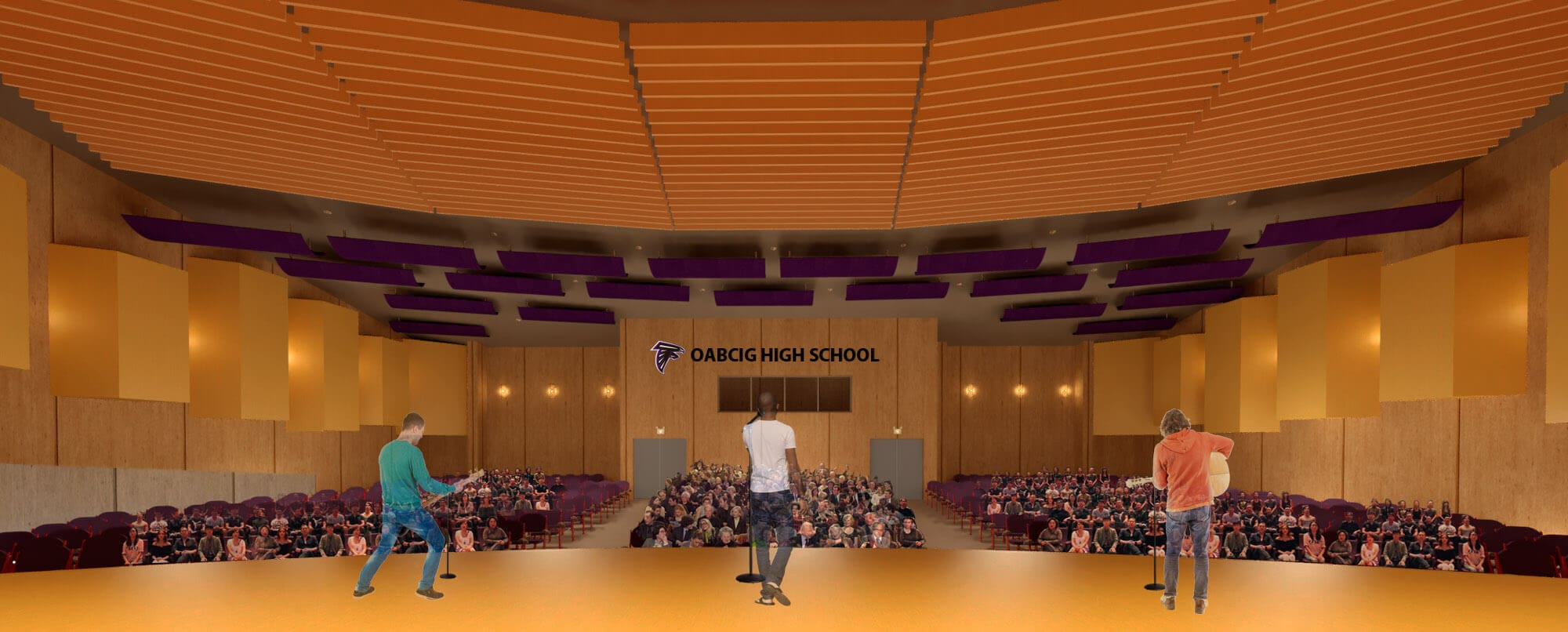 AUDITORIUM- VIEW FROM THE STAGE