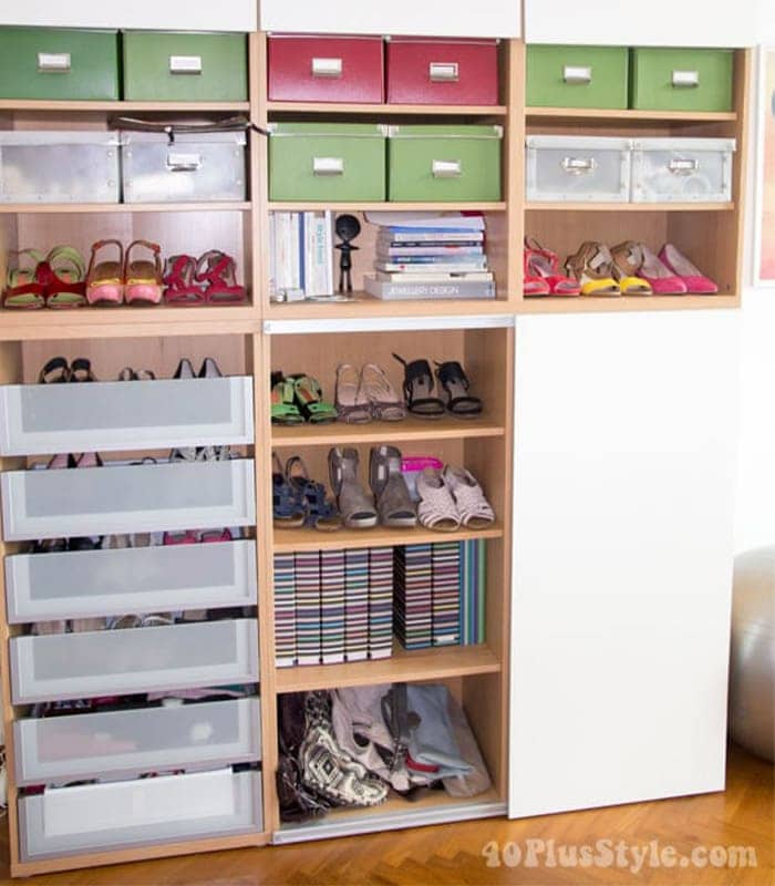 How to store clothes and accessories creatively in a smaller space   40plusstyle.com